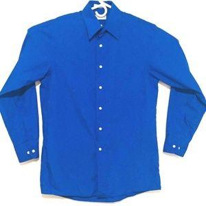 Van Heusen Men's Long Sleeve Button-Up Dress Shirt